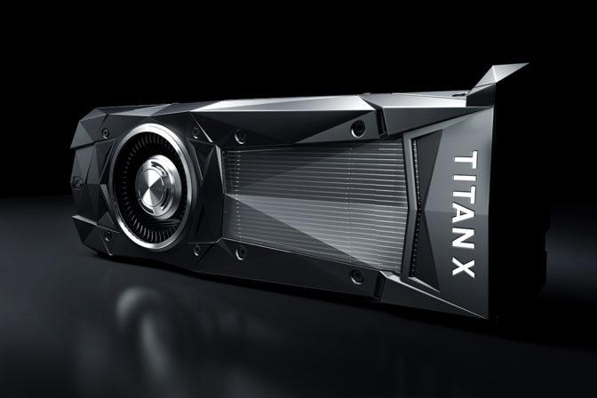 A TITAN for a Titan: NVIDIA CEO Jen-Hsun Huang Presents New TITAN X to Baidu's Andrew Ng
