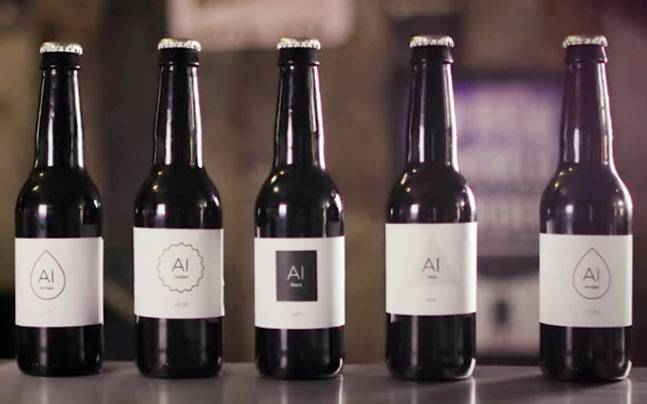 How would you like a beer brewed with the help of artificial intelligence?