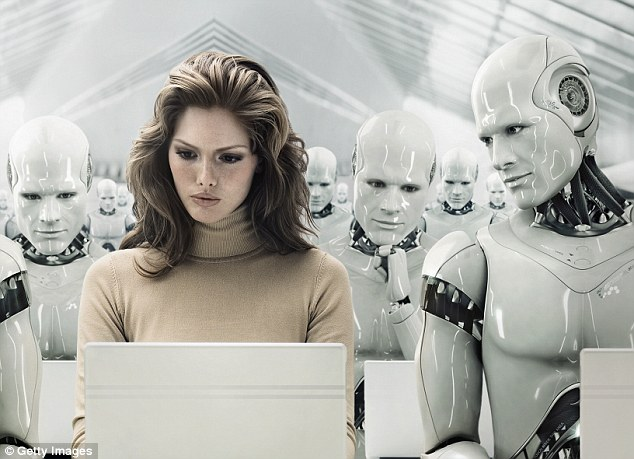 Will robots be SEXIST? Scientists are trying to reprogram misogynist machines to take out their bias