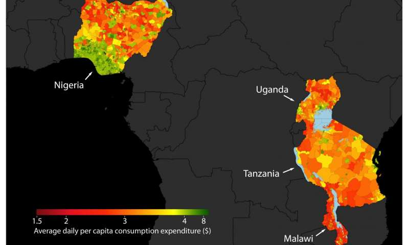 Satellites can be used to map poverty, study shows