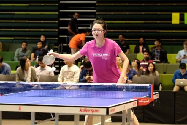 Geek of the Week: Research scientist Shang Shang is an Amazon ping-pong champion