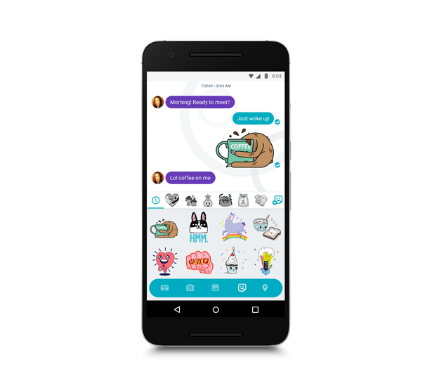 Say 'allo to Google Allo: New messaging app uses artificial intelligence to predict what you want to …