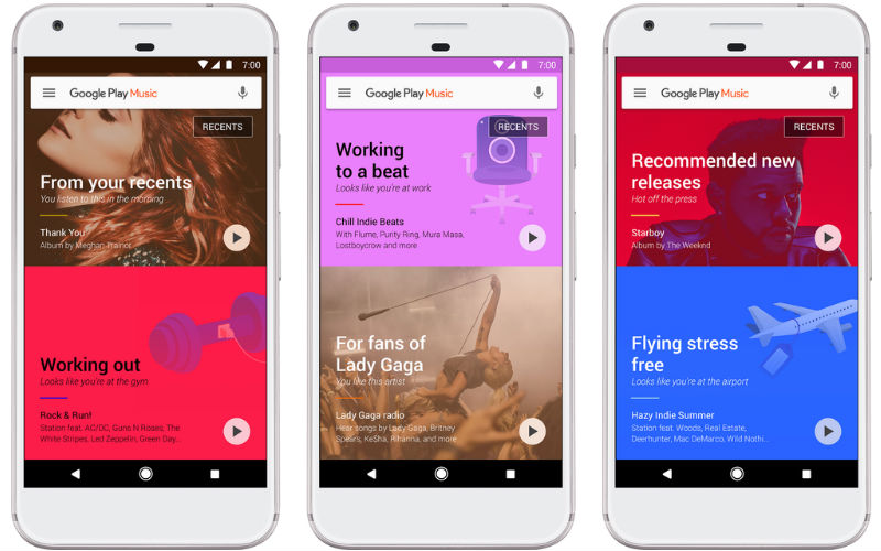 Google Play Music now uses machine learning to suggest songs