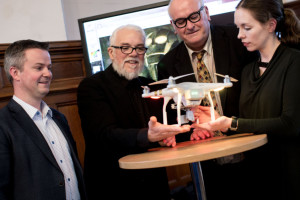 Robot Wars star ponders the ethics of Artificial Intelligence (AI) at Magee