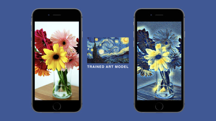 Facebook is bringing artsy neural networks to a phone near you