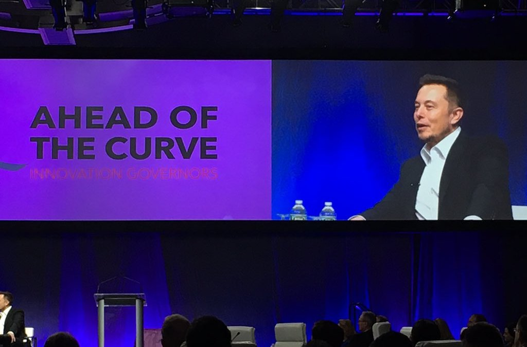 Tesla CEO speaks on the final day of the NGA Summer Event