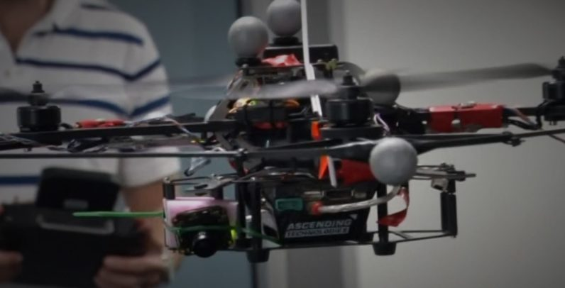 AI, AI, AI, drones are using sight to fly!