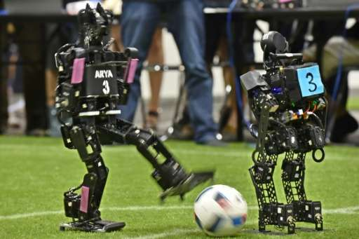 Watch out Messi, here come the footballers at RoboCup