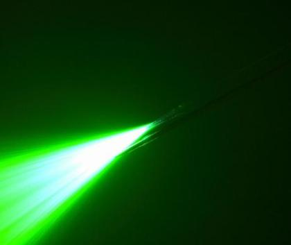 This image shows a light from optogentics.