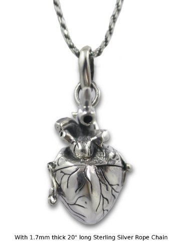 JewelsObsession Sterling Silver 21mm 100/% Friends in Heart Charm w//Lobster Clasp