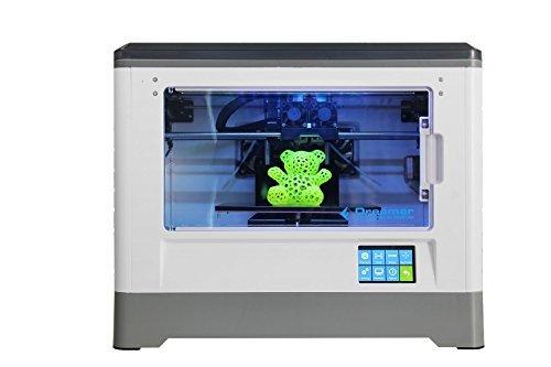 flashforge dreamer 3d printer dual extruder fully enclosed chamber