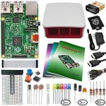 Raspberry-Pi-2-Model-B-Ultimate-Starter-Kit-Includes-Raspberry-Pi-2-Model-B-Edimax-EW-7811Un-WiFi-Official-RedWhite-Case-NOOBS-MicroSD-Power-Supply-IR-Sensor-Books-Components-and-more-0