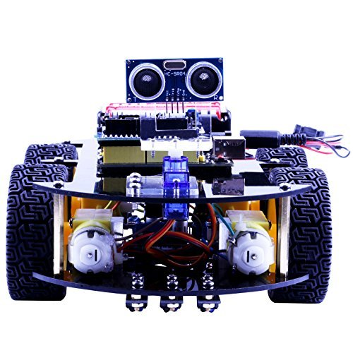 Elego UNO Project Smart Robot Car Kit with Four-wheel Drives, UNO R3 ...