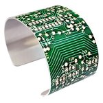 Green-Circuit-Board-Image-Bracelet-Circuitboard-Image-NOT-Actual-Circuit-Board-Wide-Aluminum-Cuff-0