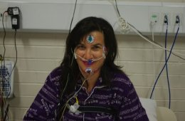 Image shows a participant of the study.