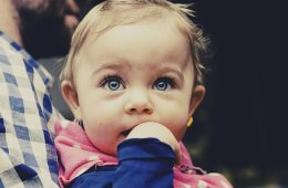 Image shows a baby girl.