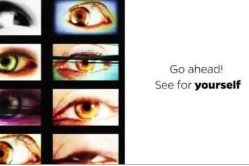 Image shows eyes.