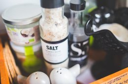 Image shows a salt shaker.