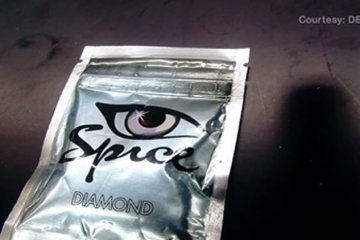 Image shows a packet of spice.