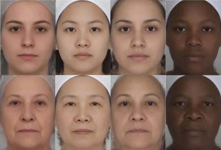 Kvinder ses som Yngre Når øjnene, læber og øjenbryn Stand Out - Neurovidenskab Nyheder-8021