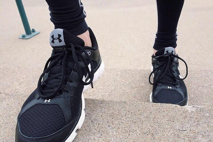 walking shoes
