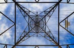Image shows a pylon.