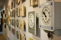 clocks are shown