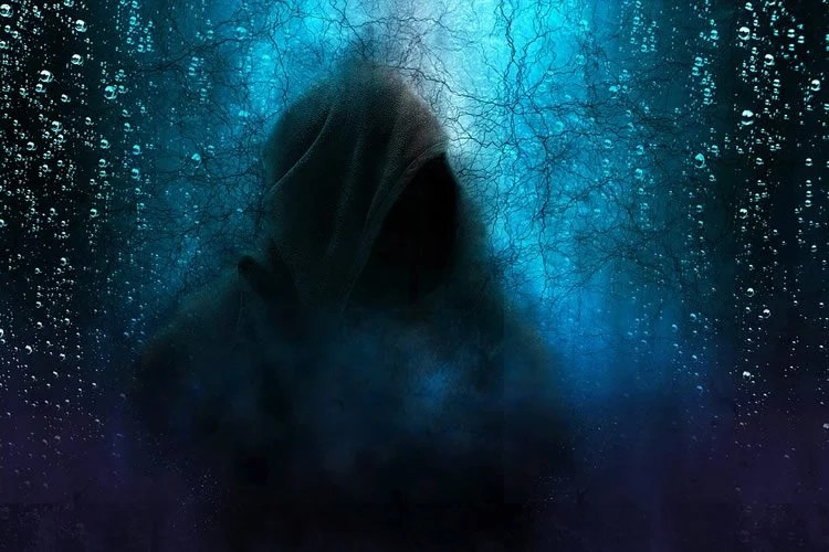 Image shows a creepy night scene.