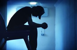depressed looking man