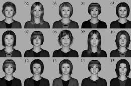 Image shows faces used in the study.