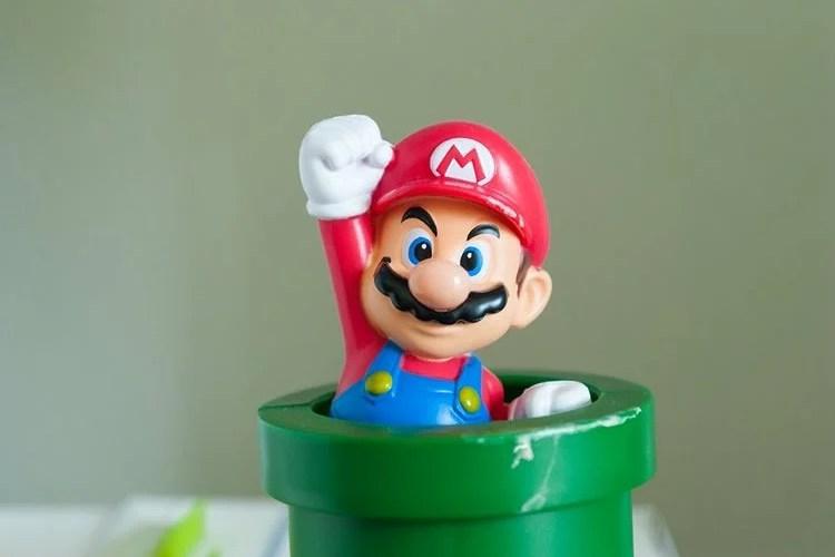 Image shows a super mario toy.
