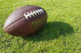 Image shows a football.