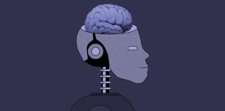 a robot with a brain