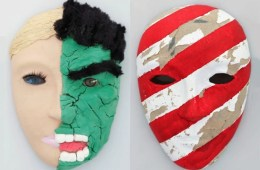 these are masks created by the service members
