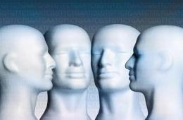 This image shows model heads