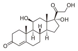 this is the chemical structure of cortisol