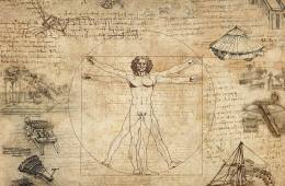 This is a collection of da Vinci's most popular works