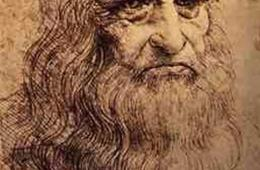 This is a self portrait of da Vinci