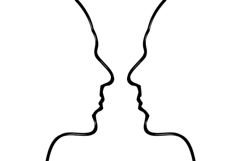 This shows two heads