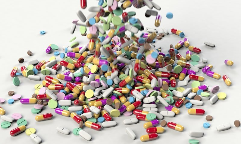 This shows pills