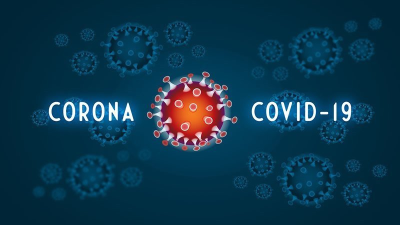This shows the word covid-19