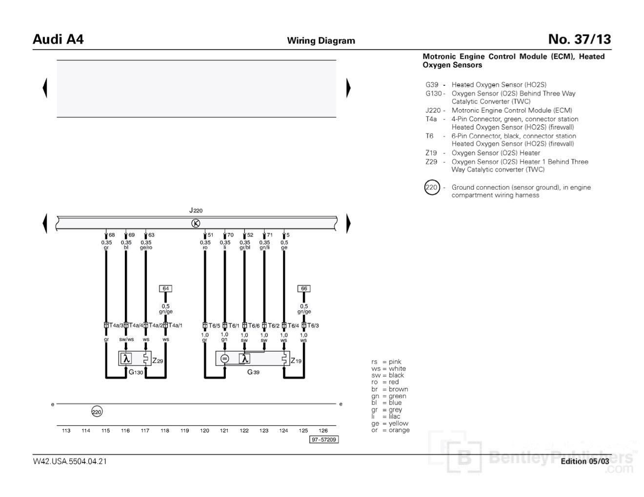 wiring diagram audi a4 b7