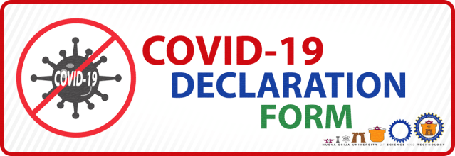Covid Declaration Form