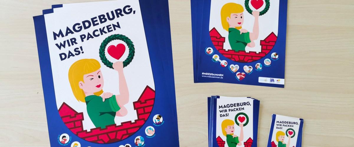 Magdeburg, wir packen das!