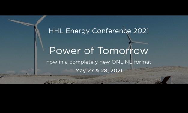 Einladung zur HHL Energy Conference 2021