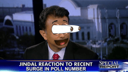 Bobby Jindal skyrockets to .00009% in GOP poll after first debate