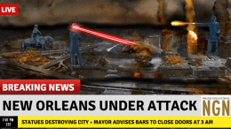 Confederate Statues New Orleans Attack Crime - Neutral Ground News