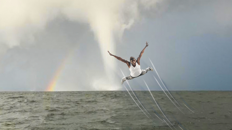 Man sucked up by waterspout on Lake Pontchartrain transported to fabulous realm of Oz New Orleans