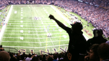Metairie man on cloud 9 after Superdome crowd chants his name