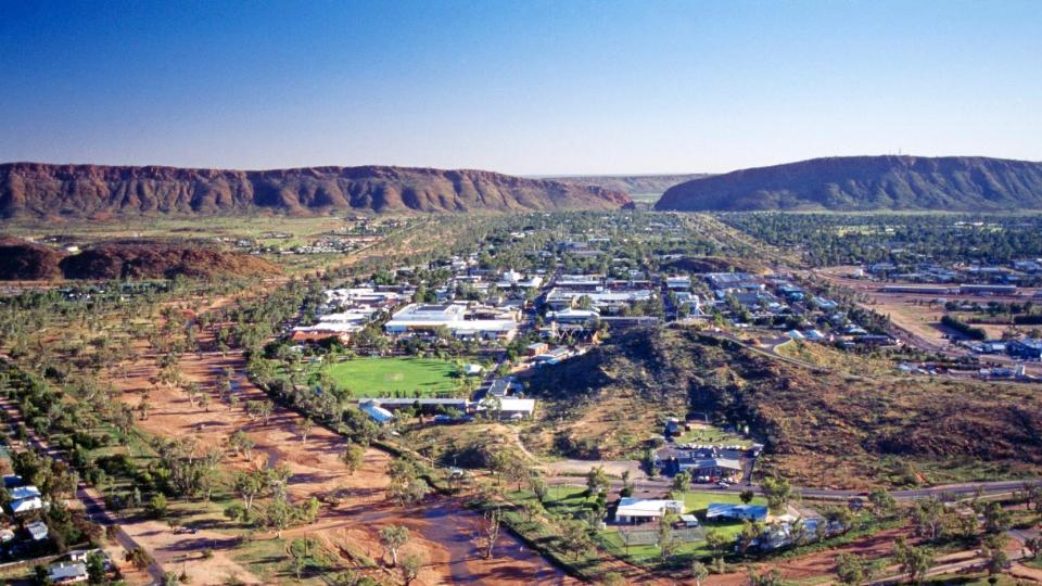 Alice Springs Australia Featured
